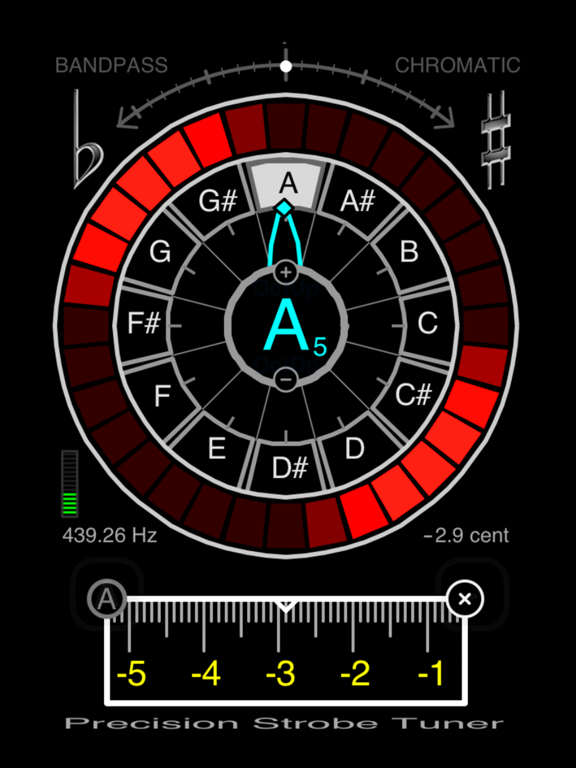 Precision Strobe Tuner screenshot