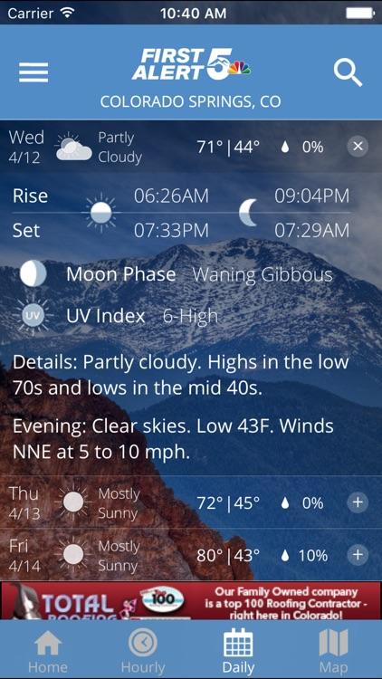 First Alert 5 Weather App screenshot-3