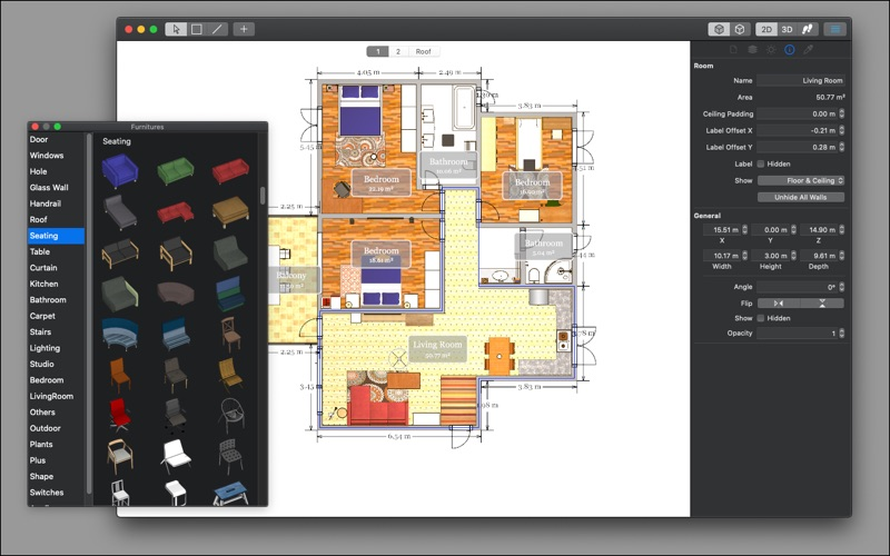 House Design Pro X for Mac