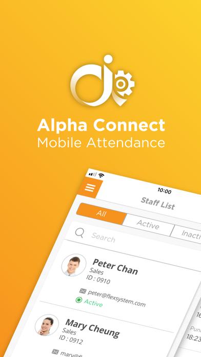 Alpha Connect Admin屏幕截图1