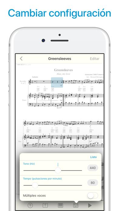 download Lector de notas y partituras apps 0