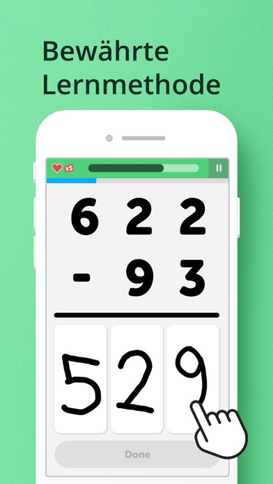 Screenshot for Math Learner: Mathe einfach in Germany App Store