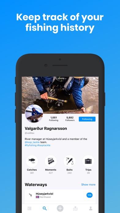 Angling iQ - Fishing app screenshot