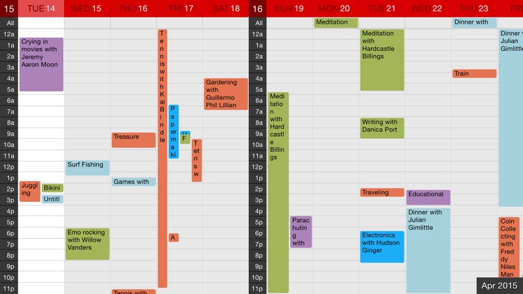 Calvetica Calendar screenshot-3