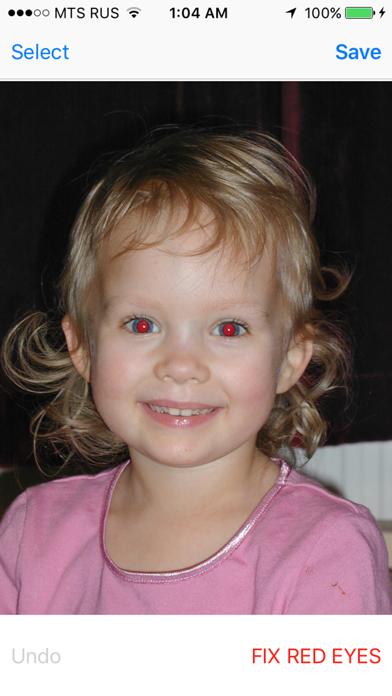 Red Eye Corrector screenshot two