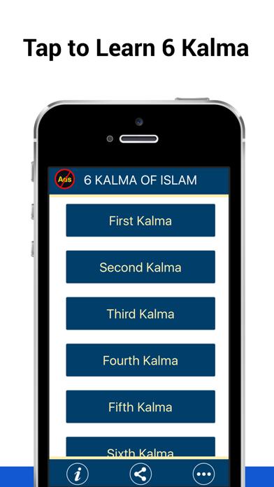 6 Kalma of Islam screenshot one