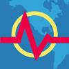 Slava Barouline - 地震+ 地図, 情報, 警告 - Earthquake+ アートワーク
