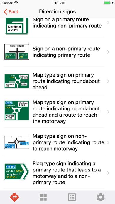 UK Traffic Signs screenshot four