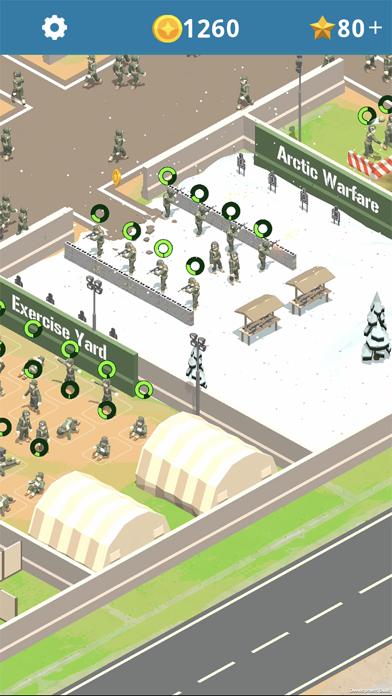 Idle Army Base screenshot 6