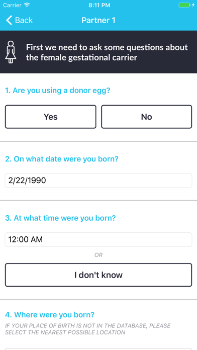 Fertility Astrology screenshot three