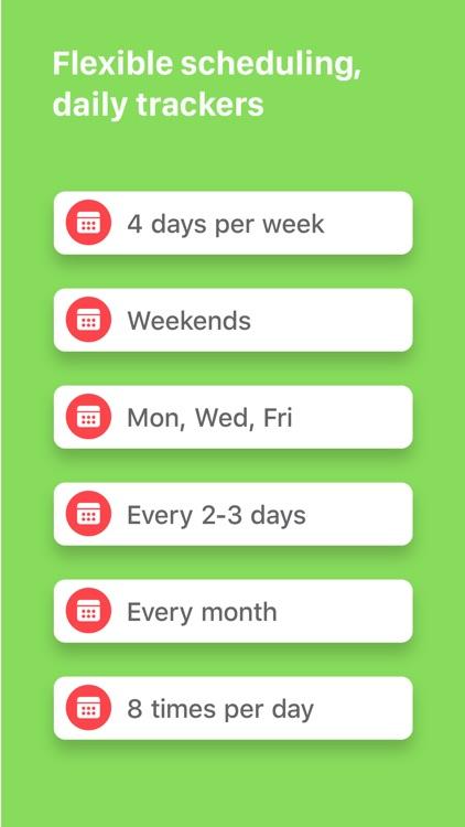 Habit List screenshot-3