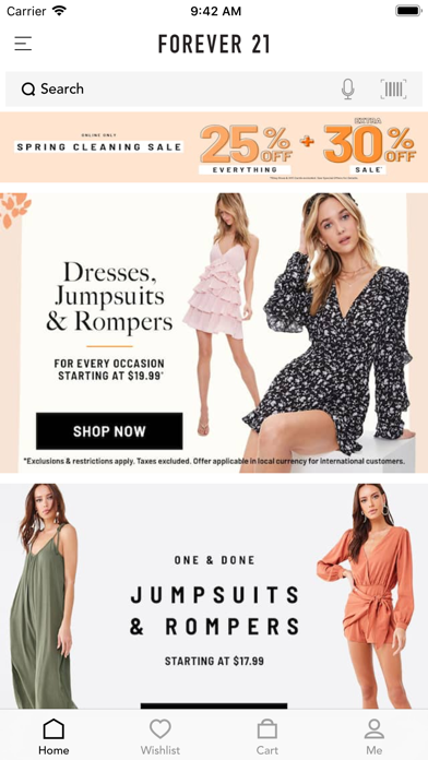 Forever 21 review screenshots
