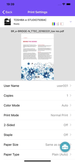 e-BRIDGE Print & Capture on the App Store
