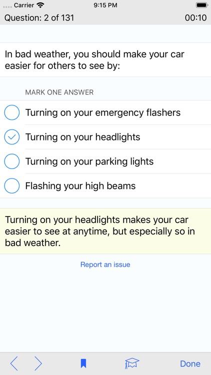 Georgia DMV Test Prep screenshot-4