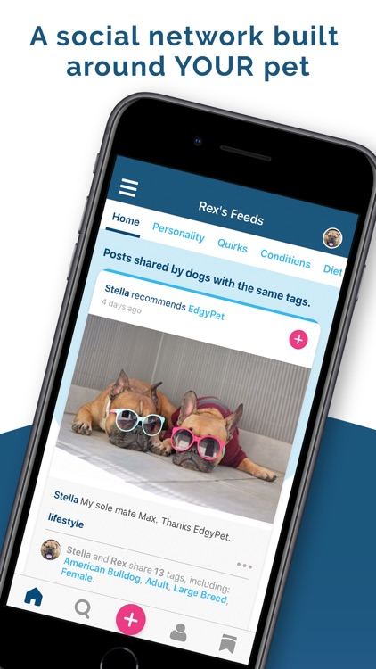 EdgyPet: Pet Social Network screenshot-0