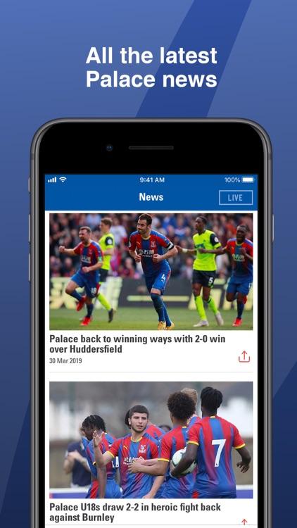Crystal Palace FC screenshot-5