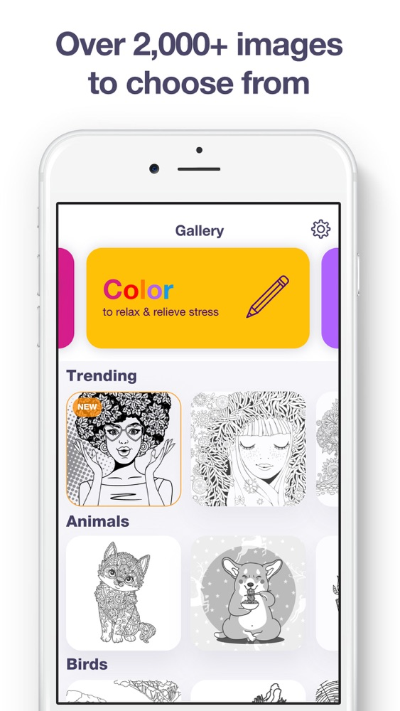 Coloring Book for Adults App. App for iPhone - Free ...
