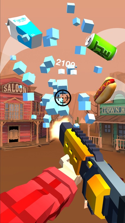 Shooting Hero-Block Gun Games