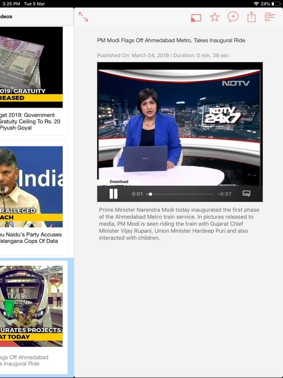 NDTV HD screenshot-3