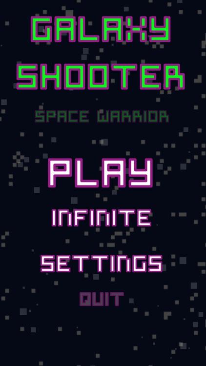 Galaxy Shooter Space Warrior