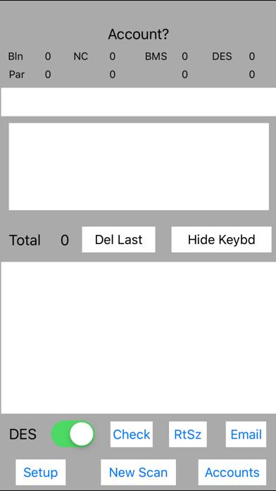 DZParScan screenshot 1