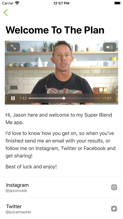Jason Vale's Super Blend Me! screenshot-3