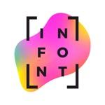 InFont-Text on Photos & Videos
