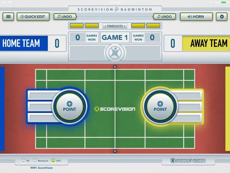 ScoreVision Badminton