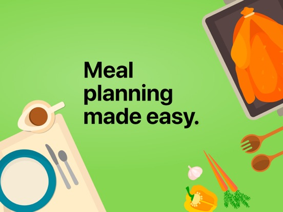 Mealime - Healthy Eating Meal Plans with Easy Recipes & Organized Grocery Lists screenshot