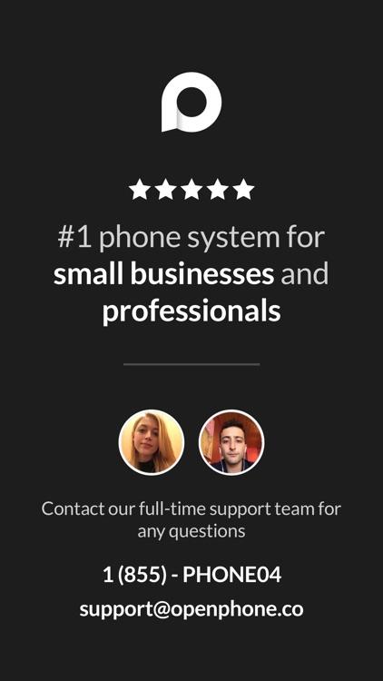 OpenPhone: Second Phone Number screenshot-4