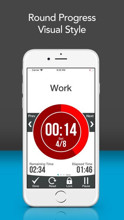 Workout Interval Timer Lite screenshot-5