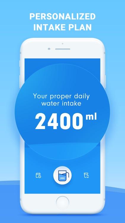 Drink Water Reminder, Tracker screenshot-4