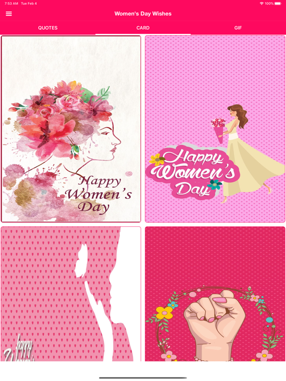 Women's Day Wishes screenshot 6