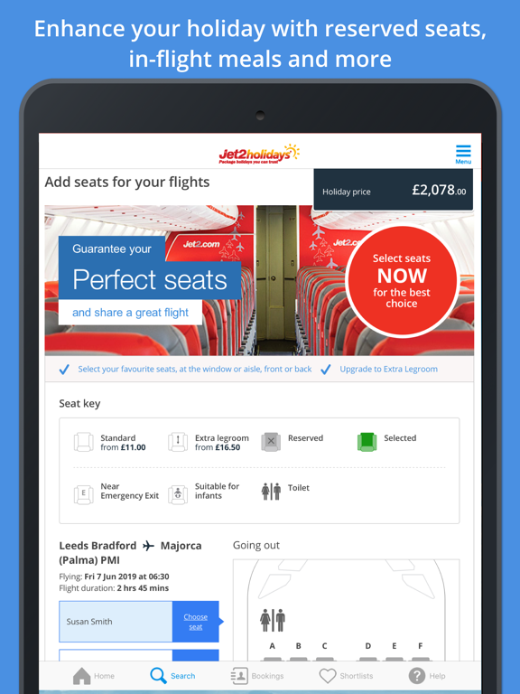 Jet2holidays – Package Holidays You Can Trust screenshot