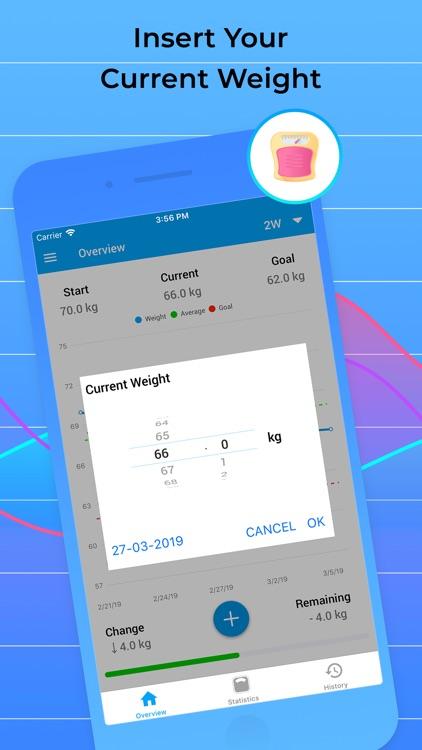 Weight Tracker for Weight Loss screenshot-5