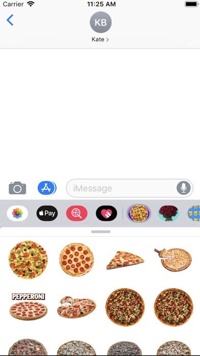 Pizza- Emoji Stickers app image