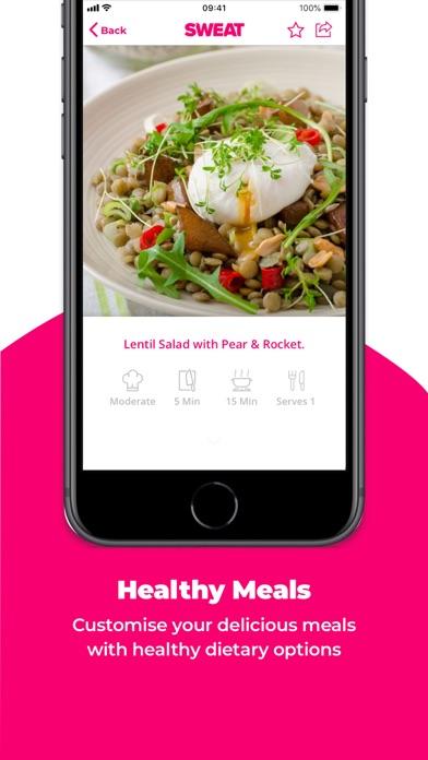 Sweat: Kayla Itsines Fitness app image