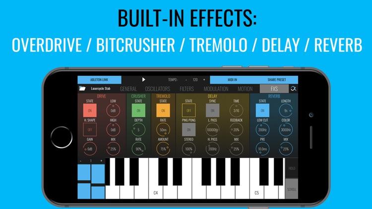 BLEASS Alpha Synthesizer screenshot-4