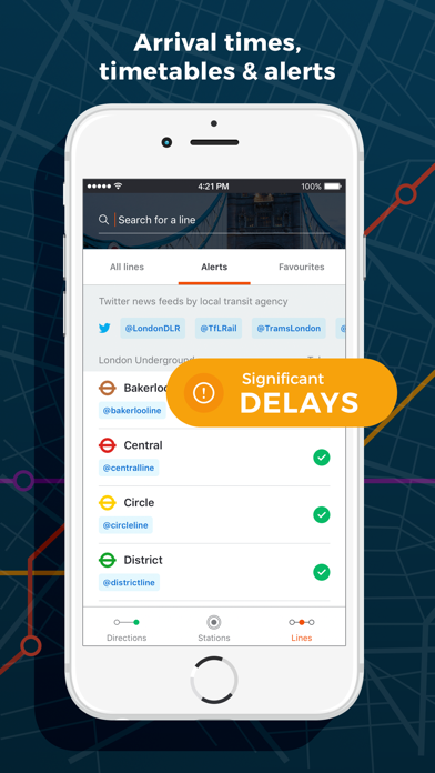 Moovit - Real-time public transport navigation Screenshot 4