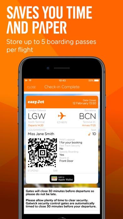 Screenshot for easyJet: Travel App in Azerbaijan App Store