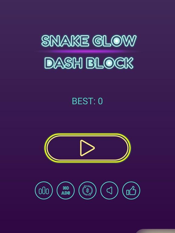 Snake Glow Dash Block screenshot 8