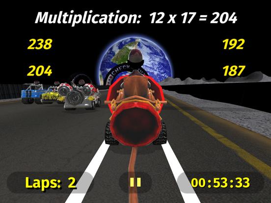 Math Racing 2 Pro Screenshots