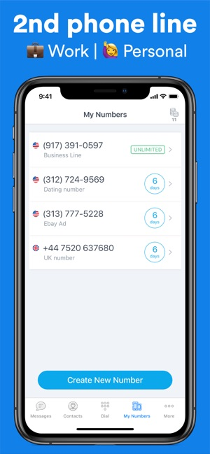 Ring4: Second Phone Number App on the App Store