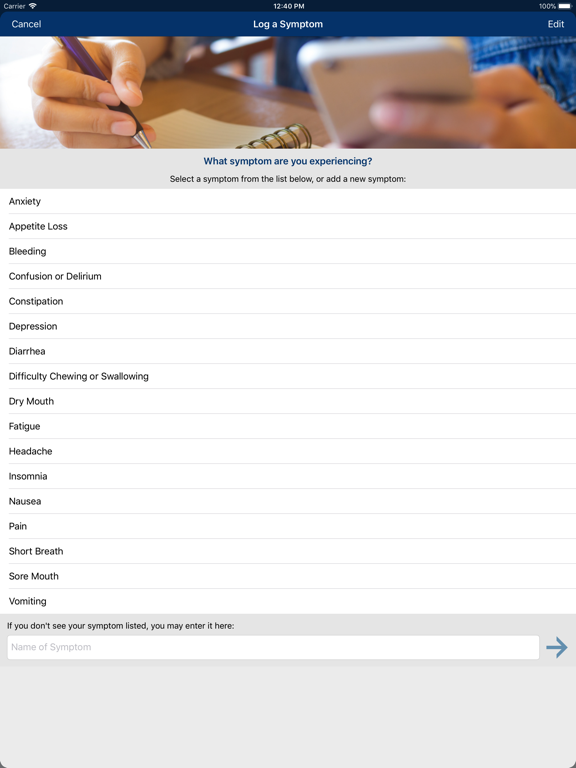 Cancer.Net Mobile screenshot