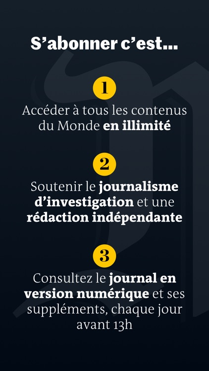 Le Monde, l'info en continu screenshot-6