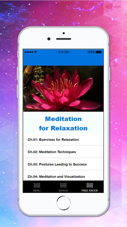 Relaxation Meditations screenshot-1