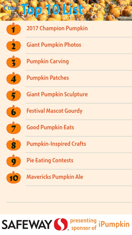 iPumpkin: Pumpkin Festival screenshot-1
