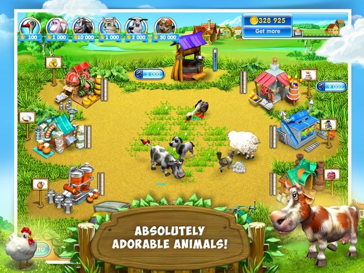 Farm Frenzy 3: Village HD Lite
