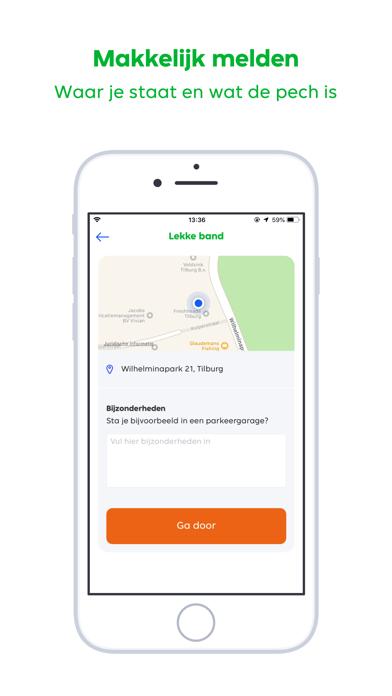 Pechhulp - RoadGuard iPhone app afbeelding 4