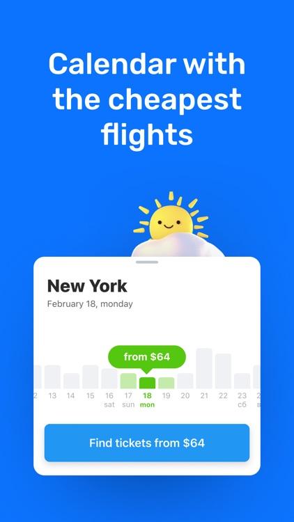 Plane tickets: flights booking screenshot-4
